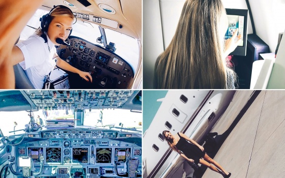 Dutch Pilot Girl On Surviving A Long Haul Flight