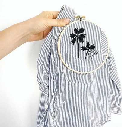 How To Add New Life To An Old White Tee